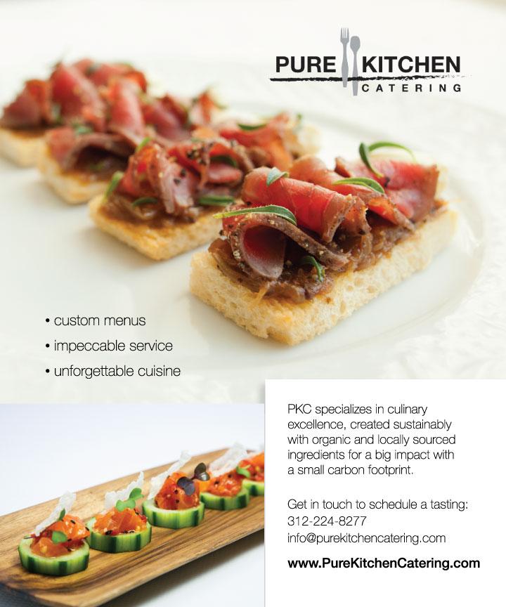 Pure Kitchen Catering Ad Prettysmart Marketing