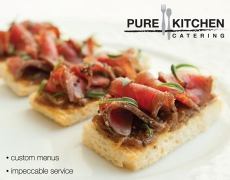 Pure Kitchen Catering – Ad